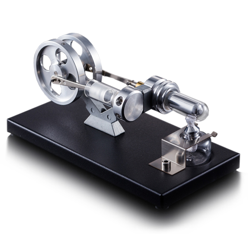 ELCTRICITY POWER MODEL BILDUNGSPIELZEUG STIRLING ENGINE MOTOR 2 ZYLINDER