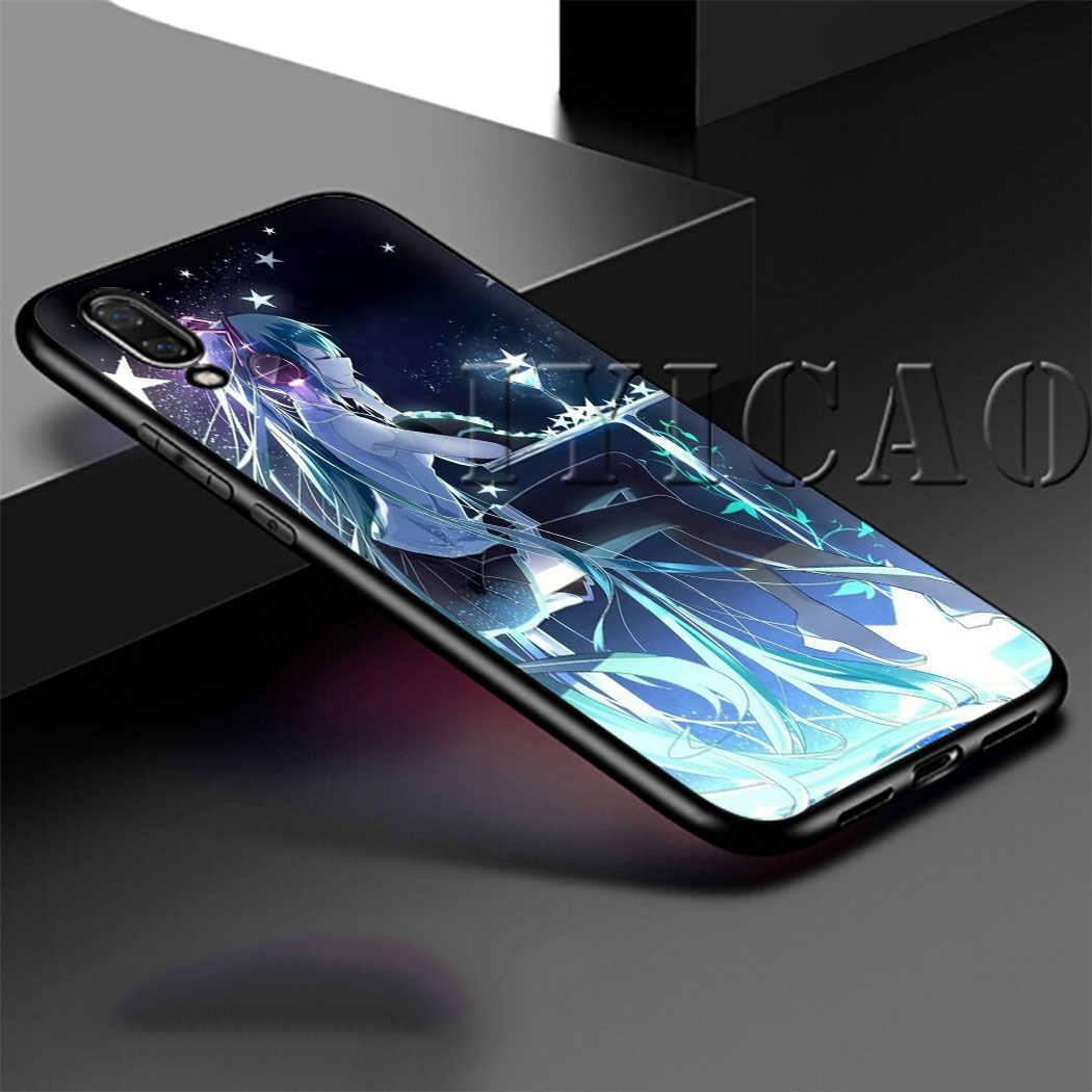 Anime Hatsune Miku Vocaloid Soft Silicon telefoon Case voor Huawei P30 Lite Pro Honor View 20 10 Pro P Smart plus 2019 P Smart Z