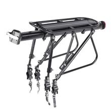 Deemount resistente bicicleta bagagem transportadora traseiro carga rack suporte 24-29 stand trunk tronco de bicicleta 100 kgs carga caber 4.0 fat fat pneu de bicicleta gordura