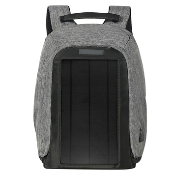1 pcs Backpack Durable Exquisite Delicate Energy-saving Well-design Solar Backpack for Travel Backpacker Student Knapsacking 1