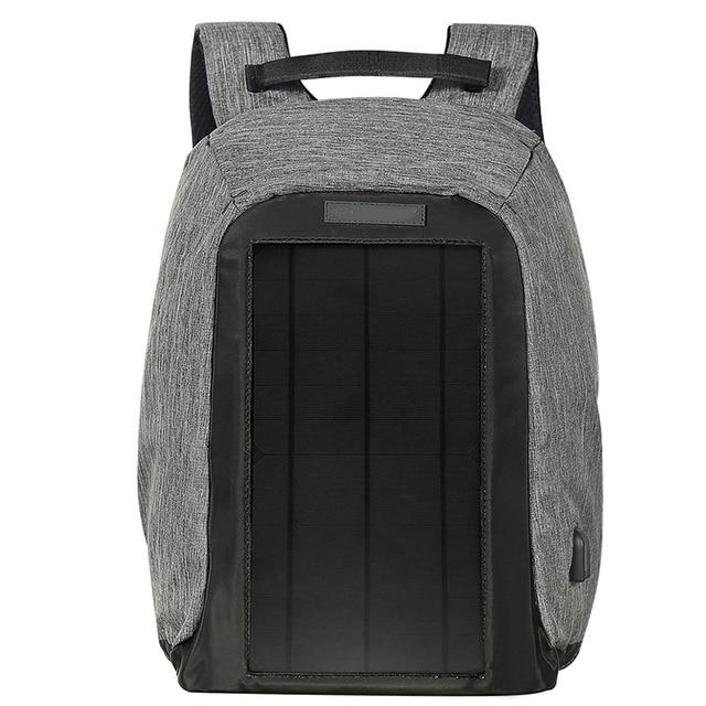 1 pcs Backpack Durable Energy-saving Exquisite Delicate Useful Solar Backpack for Backpacker Student Knapsacking 1
