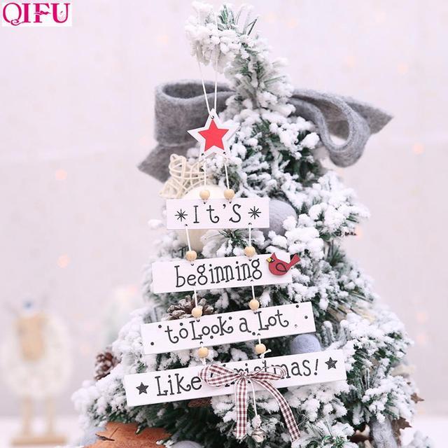QIFU Santa Claus Snowman Car Sticker Merry Christmas Decorations for Home 2019 Xmas Ornaments Navidad Gifts Happy New Year 2020 3