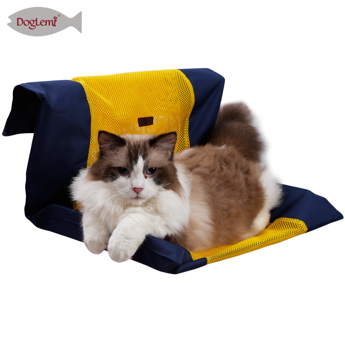 New Products Summer Mesh Cat Hammock Cat Cage Hanging Nest Washable Balcony Cat Swing Bedspread Excluded Hob