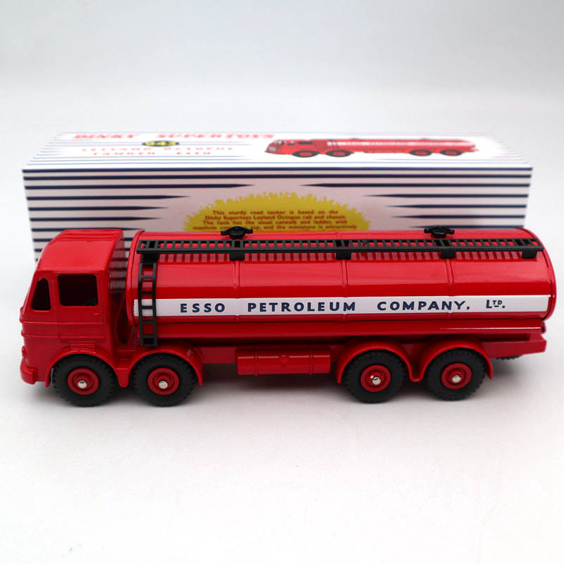 Atlas Dinky Toys Supertoys 943 Leyland Octopus Tanker ESSO Diecast Models Collection