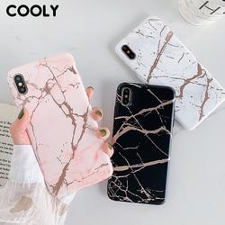 COOLY-funda de mármol rosa para Huawei P20 Lite P30 Pro, carcasa trasera para Nova 3e 4e, carcasa de silicona mate para teléfono móvil Huawei P20 Lite P30 Pro