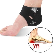 1 Pairs Corrective Sock Cover Plantar Fasciitis Therapy Heel Protector Insole Orthotic