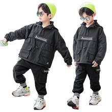 Пуловер для мальчиков хлопковое стеганое пальто осенняя новая