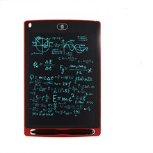 8.5 inch LCD writing board handwriting children's drawing board Tablet LCD light energy small blackboard painting board цена