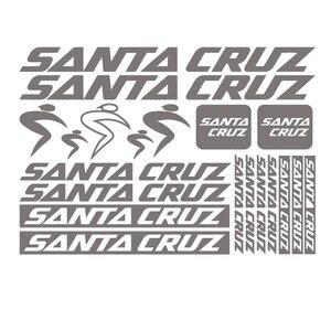 Совместимость с наклейкой Санта Круз, набор виниловых наклеек на велосипед, велосипед, горный велосипед mtb|Наклейки на автомобиль|   | АлиЭкспресс