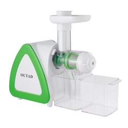 OUTAD 150W Slow Masticating Juicer Extractor Cold Press Juicer Low Noise Quiet Motor High Nutrient Fruit and Vegetable Juice