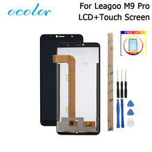 ocolor For Leagoo M9 Pro LCD Display and Touch Screen Digitizer Replacement +Tools +Adhesive For Leagoo M9 Pro Phone+Film
