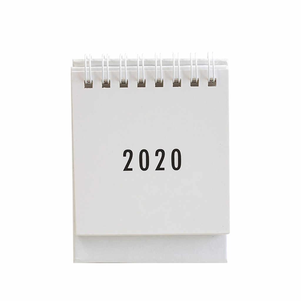 2020 Mini Desk Calendar Stand Up Flip