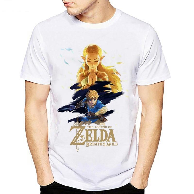 New T shirt Men The Legend of ZELDA triforce men tshirt Hot Sale T-Shirt Triforce Skyward Sword hipster tops fashion tee shirt