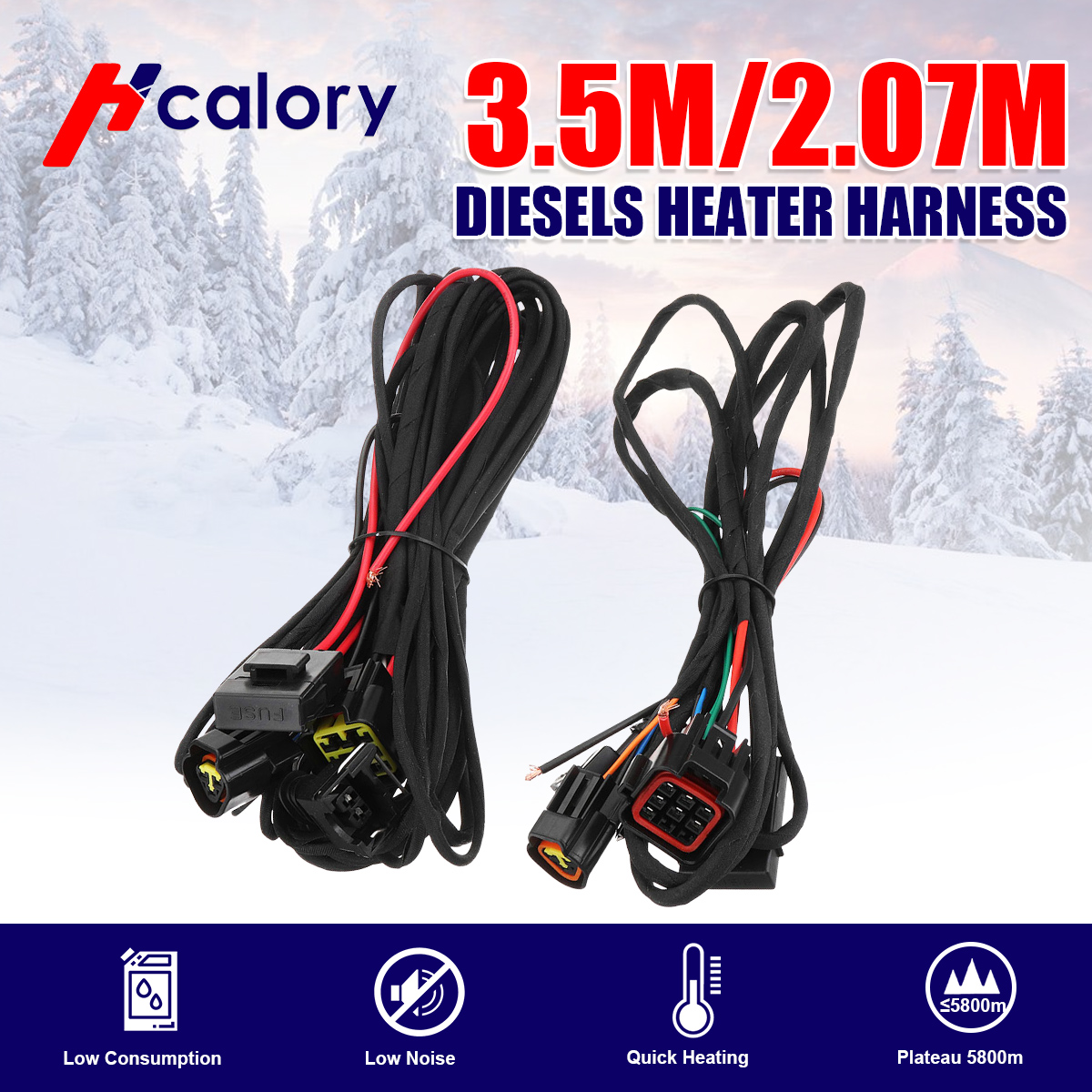 Diesels Heater Harness/main Wire Harness For Air Diesels Parking Heater Similar To Eberspach Heater For Cars Truck Caravan Boat