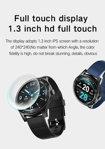 Image 2 - SENBONO كامل اللمس S6 ساعة ذكية IP67 مقاوم للماء الذكور معدل ضربات القلب ضغط الدم رصد Smartwatch سوار لياقة بدنية