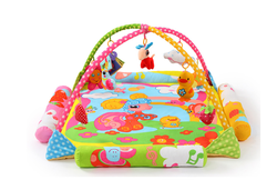 Baby Play Mat Crawl Mat Kid's Stand Fitness Frame Baby Music Toys