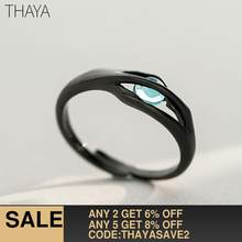 Thaya Original Design Sleeping Beauty Rings S925 Silver Handmade Crystal Rings for Woman Jewelry Gift(China)