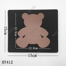 Little bear  wooden die cutting dies Suitable for common die-cutting machines in the market