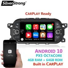 SilverStrong 7 IPS DSP 4G 64G Android 10,0 Auto DVD GPS Für Fiat Tipo Aegea Egea 2015 2016 2017 für JEEP NEON Carplay