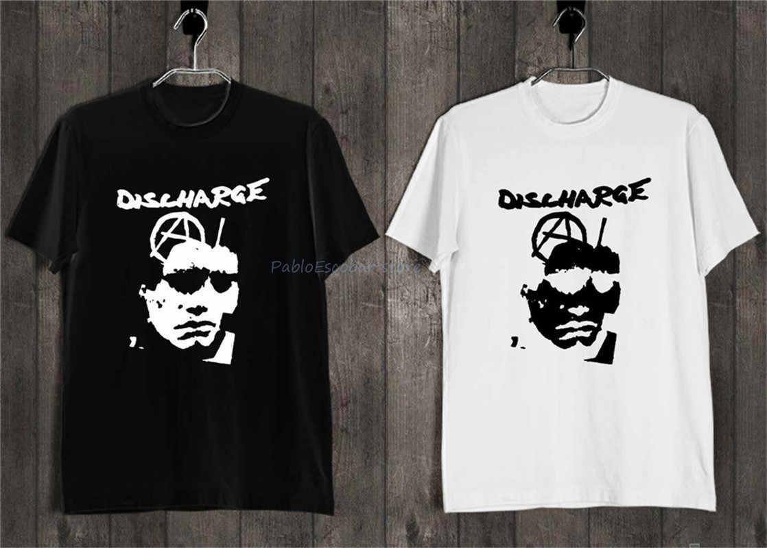 Décharge entendre rien voir rien dire rien T-Shirt noir blanc Streetwear Tee Shirt