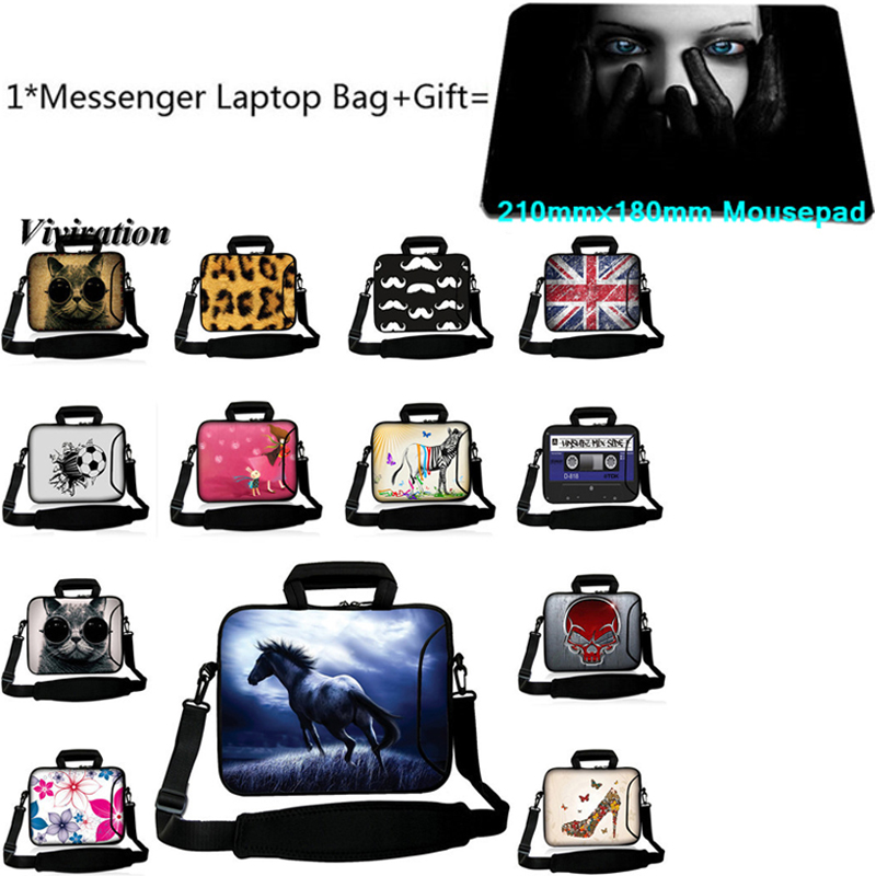 For Chuwi iPad Dell XPS Acer Macbook Air Pro Retina 11.6 13.3 15.4 15 13 12 9.7 <font><b>Funda</b></font> <font><b>Portatil</b></font> <font><b>15.6</b></font> 17 14 10 Laptop Bag+Mousepad image
