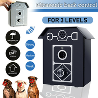 Outdoor Ultrasonic Pet Dog Stop Barking Annoying Anti Bark House Control Device Dogs High frequency Anti Barking Trainer Tool