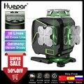 Huepar S04CG 16 linien 4D Kreuz Linie Laser Ebene Bluetooth & Fernbedienung Funktionen Grüne Strahl Linien Mit Fest Tragen fall