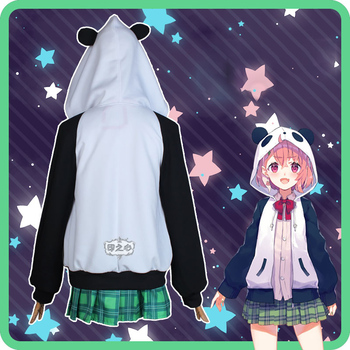 Hololive VTuber GAMERS YouTuber Sasaki Saku Cosplay Costumes Women Casual Outfits Top Skirts Coat Halloween Uniforms Custom Made 3