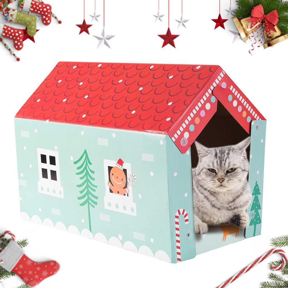 고양이 장난감 고양이 스크래치 보드 패드 긁는 게시물 새끼 고양이 골판지 종이 패드 고양이 그라인딩 네일 스크레이퍼 매트 매트리스