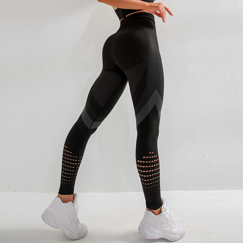 yoga leggings controle de barriga calças de