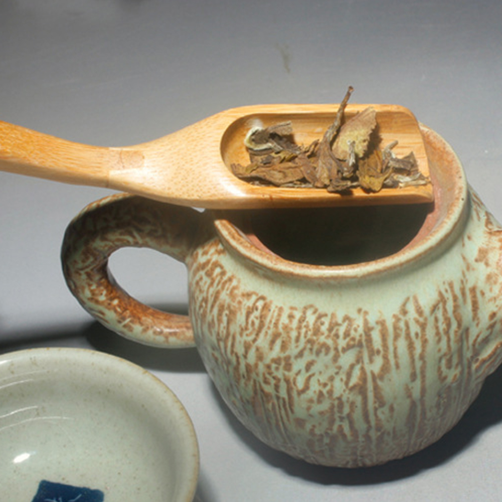 Бамбуковая лопатка экологичный сшивающий Инструмент Ложка аксессуар кофейная пудра кунгфу чайная ложка чай Матча церемония