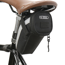 MTB Road Bike Bicycle Bags Bike Storage Saddle Bag Waterproof Polyester Cycling Tail Rear Pouch Bag Bicycle Accessories rockbros waterproof bike saddle bag reflective large dirtproof foldable mtb road tail rear bag pannier backpack 10l cycling bag
