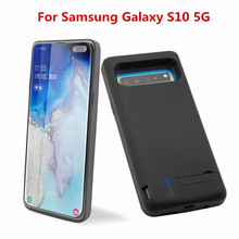 External Power Bank Charger Battery Cover For Samsung Galaxy S10 5G Ultrathin Case 7000mAh