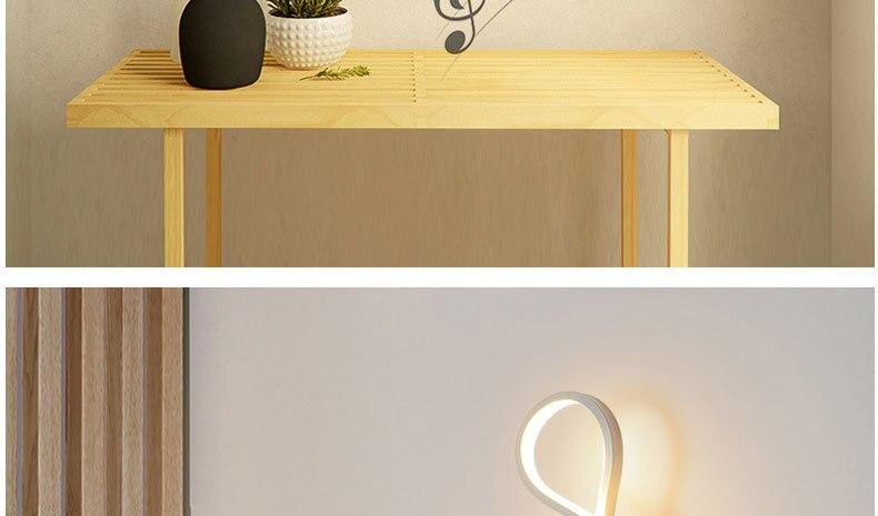 moderna quarto ao lado da leitura luzes