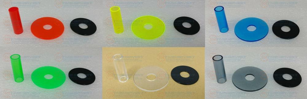4 sets Original JLF-CD-CLEAR SERIES Sanwa jlf-cd shaft cover kit SANWA JLF-CD HORI Joystick replacement for Sanwan joystick(China)