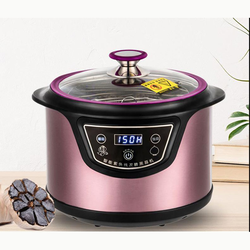 6L 90W  Automatic Black Garlic Fermenter Household DIY Zymolysis Pot Maker 220V Black Garlic Fermenting Machine Energy Saving