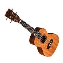 23 inch Ukulele Hawaii Guitar 4 String Guitar Unique and Simple Style Ukulele for Musical Instrument Lovers kmise tenor ukulele mahogany ukelele 26 inch uke aquila string 4 string hawaii guitar