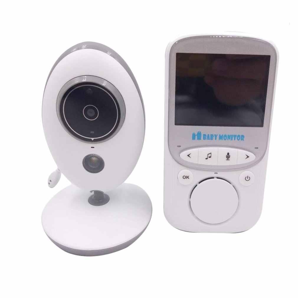 Беспроводной ЖК-аудио-видео видеоняня Vb605 радио няня музыка работающий на линии внутренней связи инфракрасный 24H портативная детская камера детская рация няня