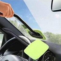 Azul/verde pára brisa fácil limpador de janelas de microfibra limpador automático limpo difícil de alcançar para o carro em casa transporte da gota quente Lavadora automotiva Automóveis e motos -