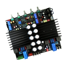 TDA8954THデジタルパワーアンプボード2X210W + 420ワット2.1 cl dハイパワーとbluetoothフロントトーンLM1036N + NE5532