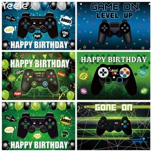 Yeele Hot Video Electronic Game Photography Backgrounds Photo Shootings Backdrops Props For Baby Birthday Party Decor Photocall