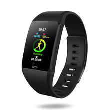 New Trend Smart watch 2019 color screen light and thin intelligent Bracelet heart rate sleep monitor foot movement