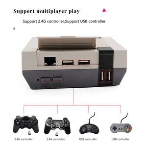 Image 4 - Retroflag console de vídeo game nespi + raspberry pi 3b, com suporte para saída hdmi, pre instalação e multiinstalação recalbox de idiomas e jogos