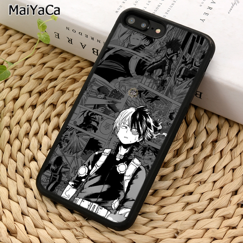 Чехол для телефона MaiYaCa Shoto Todoroki Boku no japan anime для iPhone 5 6 7 8 plus 11 Pro X XR XS Max Samsung Galaxy S7 S8 S9 S10|Специальные чехлы|   | АлиЭкспресс