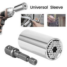 Universal Drehmoment Wrench Leiter Set Buchse Hülse 7 19mm Bohrmaschine Ratsche Buchse Spanner Schlüssel Magie Multi Hand werkzeuge