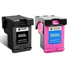 Сменный чернильный картридж для hp 302 картриджи принтера xl