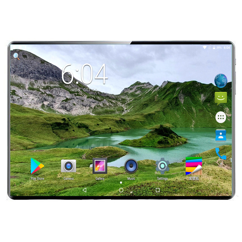 10 Inch 1920*1200 Display MTK6797 Deca Core 8GB 128GB Android 9.0 Tablets Dual Wifi Dual Cameras Before And After Glass Screen