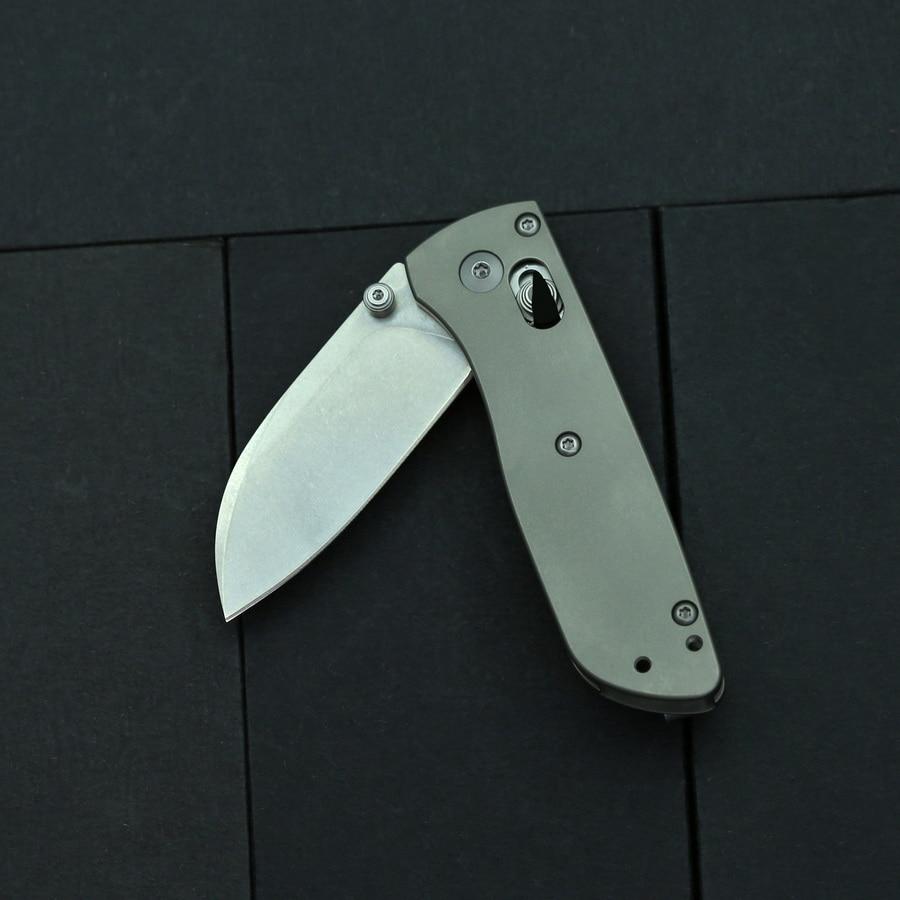 home improvement : BEKETEN 535 mini Pocket Folding Knife S30V Blade Titanium Handle Outdoor Camping Hunting Survival Tactical Gift Knives EDC Tools