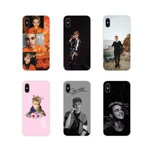 Corbyn Besson akcesoria etui na telefony pokrowce na Apple iPhone X XR XS 11 pro MAX 4S 5S 5C SE 6S 7 8 Plus ipod touch 5 6