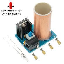 SAMIORE ROBOT BD243 Mini Tesla Coil Kit Magic Props DIY Parts Empty Lights Technology Diy Electronics BD243C